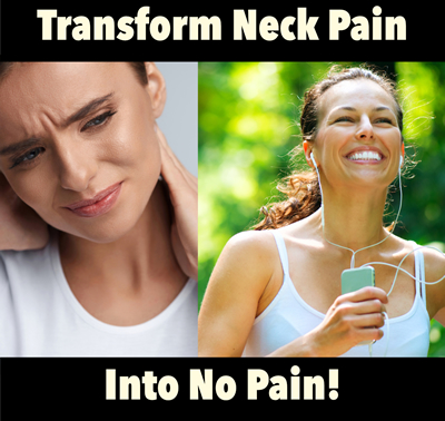 get rid of neck pain
